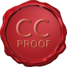 CC Proof copyright protection